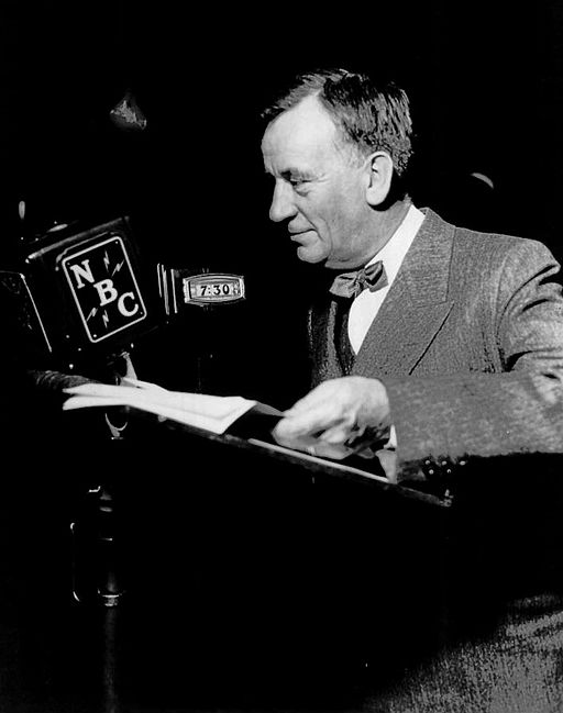 Edgar Guest on the radio 1935
