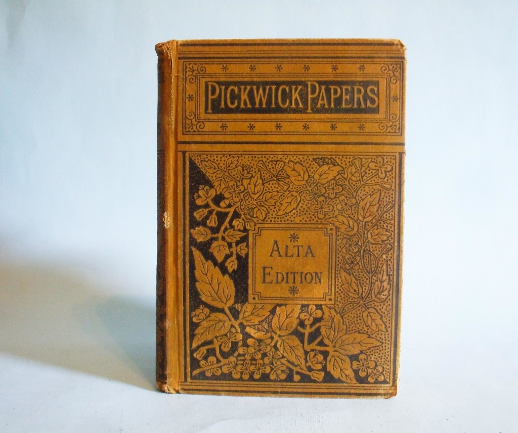 pickwick papers book report Discover the pickwick papers  seymour had an idea for a new book based on the exploits should make journeys to places remote from london and report on their.