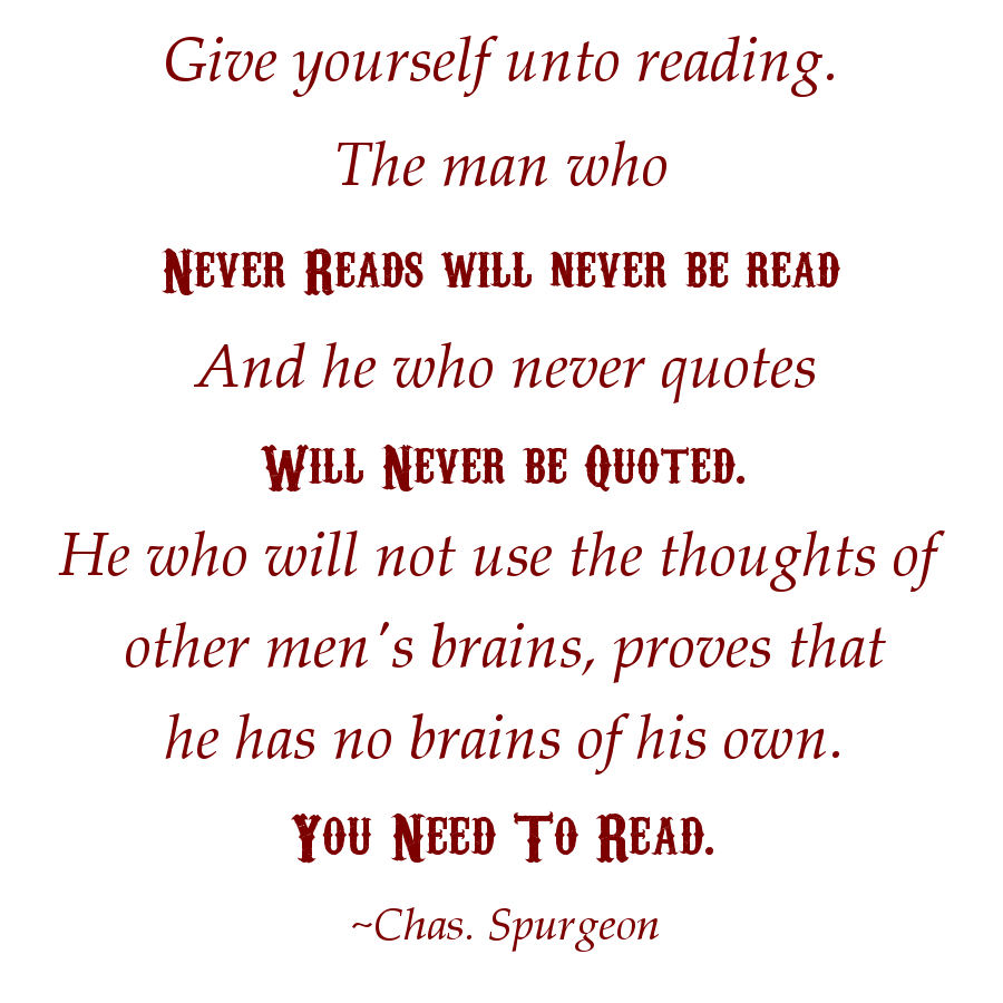 Chas Spurgeon Quote