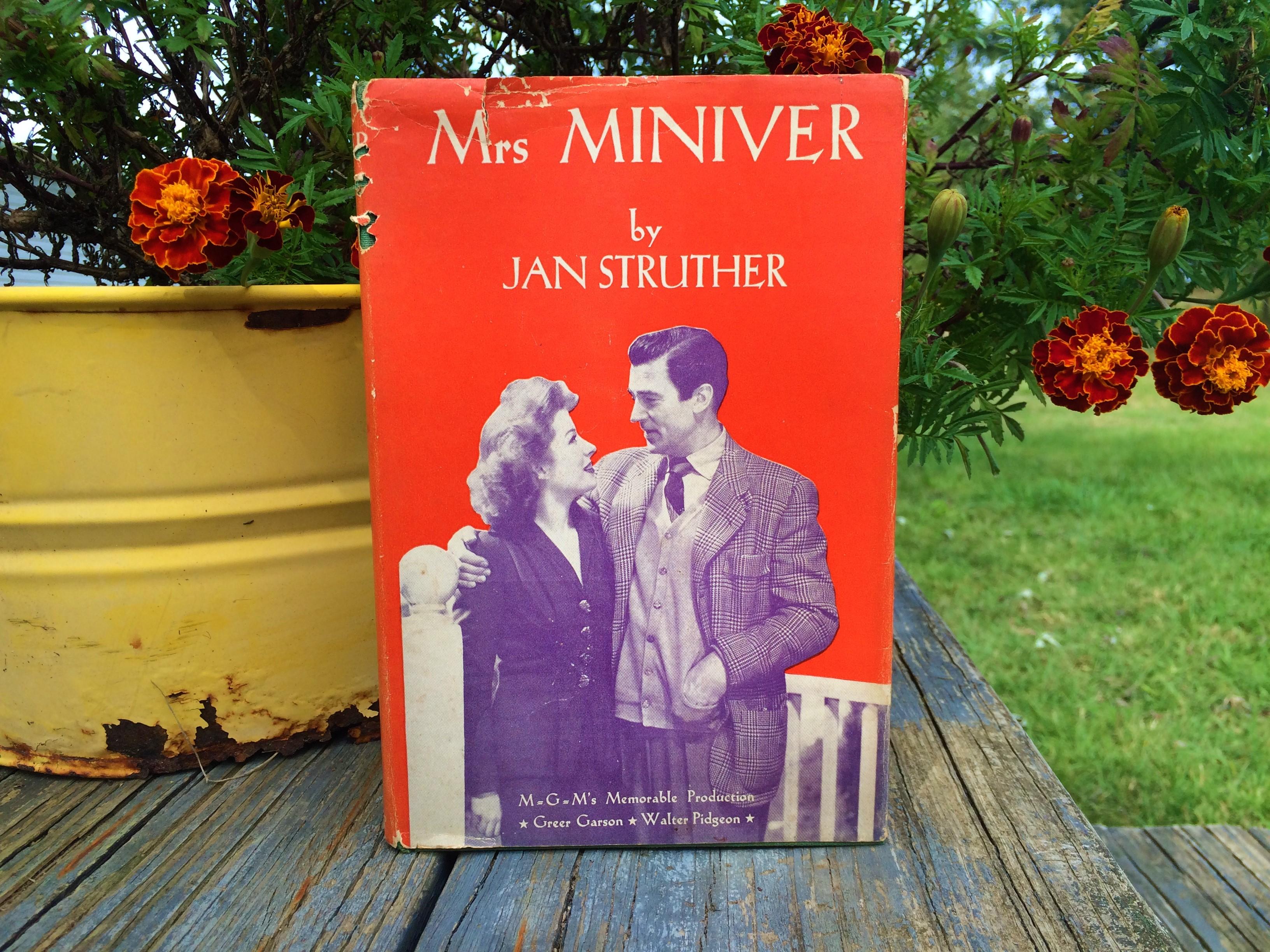 Mrs Miniver Vintage Book Review Box Thirteen